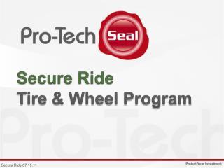Secure Ride Tire & Wheel Program