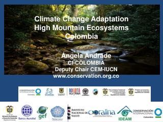 Climate Change Adaptation High Mountain Ecosystems Colombia