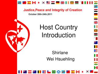 Host Country  Introduction