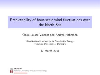 Large  wind fluctuations