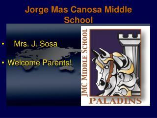 Jorge Mas Canosa Middle School