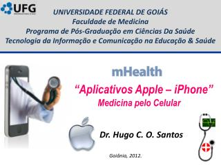 """Aplicativos Apple – iPhone"" Medicina pelo Celular"