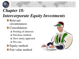 Chapter 18:  Intercorporate Equity Investments