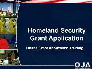 Homeland Security Grant Application