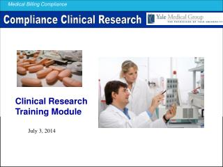 Clinical Research Training Module