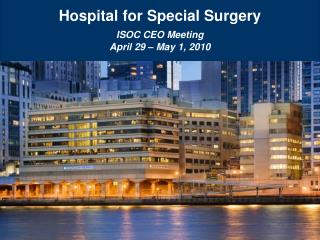 Hospital for Special Surgery