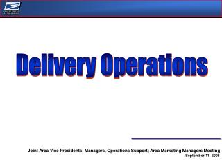Delivery Operations