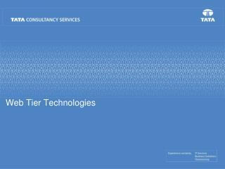 Web Tier Technologies