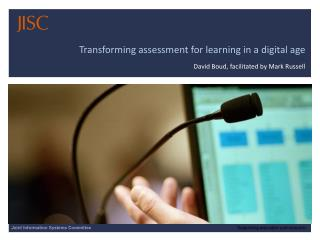 Transforming assessment for learning in a digital age