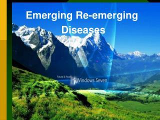 Emerging reemerging disease