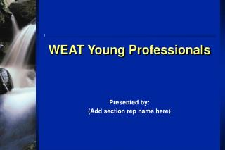 WEAT Young Professionals