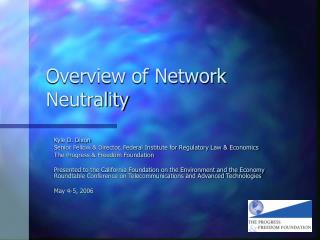Overview of Network Neutrality
