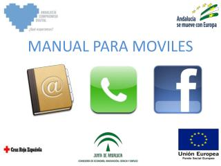 MANUAL PARA MOVILES