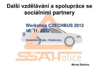 Další vzdělávání a spolupráce se sociálními partnery