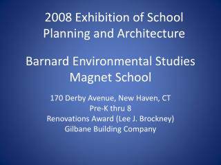 Barnard Environmental Studies Magnet School