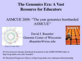 The Genomics Era: A Vast Resource for Educators