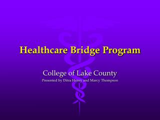 Healthcare Bridge Program