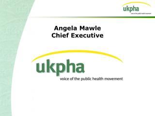 Angela Mawle Chief Executive