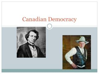 Canadian Democracy