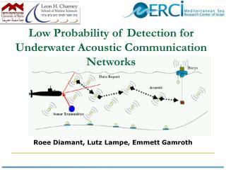 Roee  Diamant , Lutz Lampe, Emmett  Gamroth