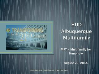 HUD Albuquerque Multifamily