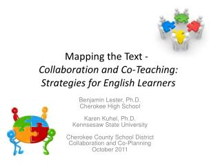 Mapping the Text --   Collaboration and Co-Teaching:  Strategies for English Learners