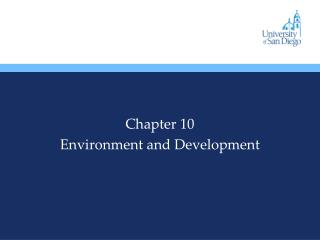 Chapter 10 Environment and Development