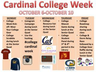 Cardinal College Week