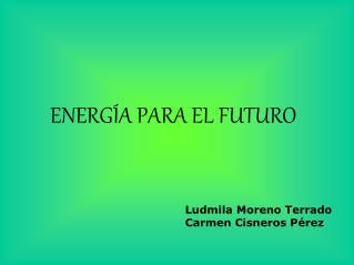 ENERGÍA PARA EL FUTURO