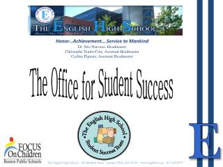 The Office for Student Success