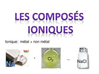 Compos  ionique
