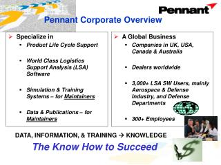 Pennant Corporate Overview