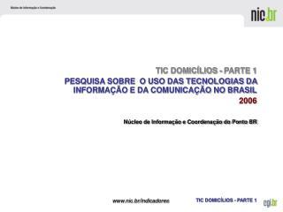Núcleo de Informação e Coordenação do Ponto BR