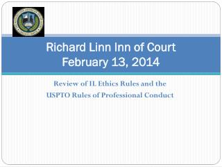 Richard Linn Inn of Court February 13, 2014