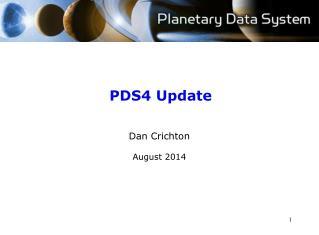 PDS4 Update