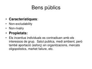 Bens públics