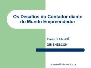 Os Desafios do Contador diante do Mundo Empreendedor