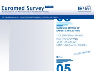 The IEMed has carried out five Surveys of actors and experts with