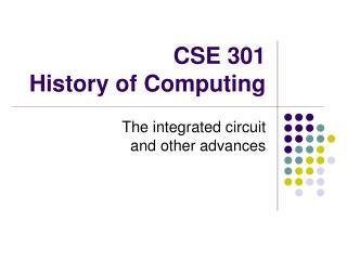 CSE 301