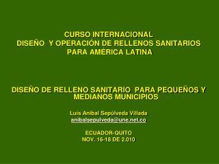 Caso de estudio: Relleno Sanitario y Parque Ambiental los Saltos Marinilla-Antioquia