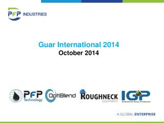 Guar International 2014 October 2014