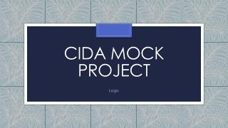 CIDA Mock Project