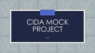 CIDA Mock Project