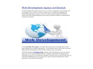 Web Development Agency in Chiswick