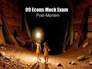 09 Econs Mock Exam