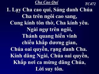 Cha Cao Quí