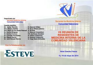 VII REUNI�N DE RESIDENTES DE  MEDICINA INTERNA DE LA COMUNIDAD VALENCIANA
