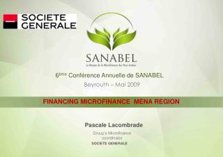 6 ème  Conférence Annuelle de SANABEL