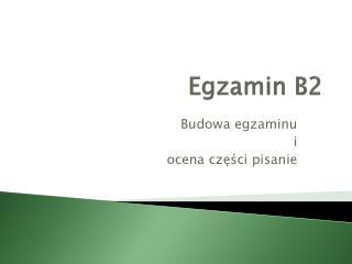 Egzamin B2