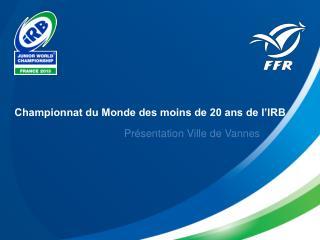 Championnat du Monde des moins de 20 ans de l'IRB